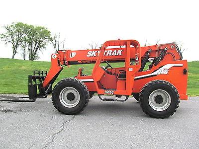 Skytrak 6036 Forklift 6000 Telehandler Only 3505 Actual Hours Lull Jlg
