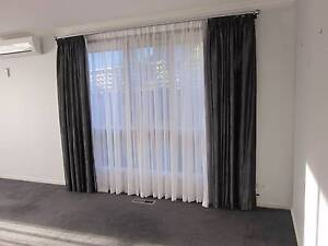 250cm Drop Curtains (two sets available) Caulfield South Glen Eira Area Preview