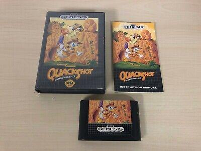 Quackshot Starring Donald Duck Sega Genesis Complete Game Original CIB comprar usado  Enviando para Brazil