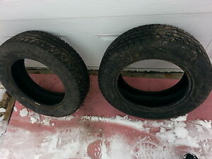 215-60-16 Brand new studded winter tires