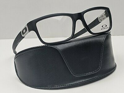 Oakley Marshal OX8034-0153 Satin Black/Silver Eyeglasses 53/17 143 /POD642