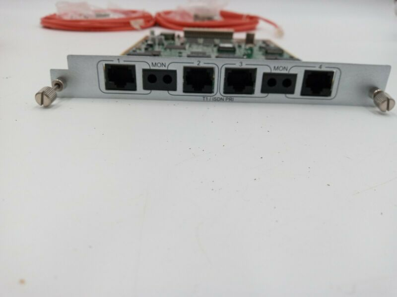 New  Adtran Atlas 800 830 890 Quad T1 PRI 1200185L3 Module