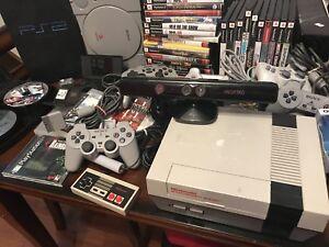 Lot de jeux nintendo playstation et plus