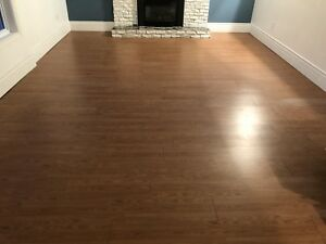 200sq/ft Laminate click flooring and underlay