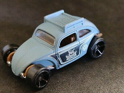 2016 HOT WHEELS VOLKSWAGEN CUSTOM BEETLE Blue