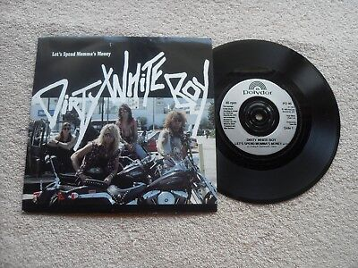"""DIRTY WHITE BOY LET'S SPEND MOMMA'S MONEY POLYDOR RECORDS UK 7"""" SINGLE in P/S"""