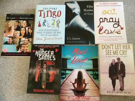 New and used fiction Northfield Port Adelaide Area Preview
