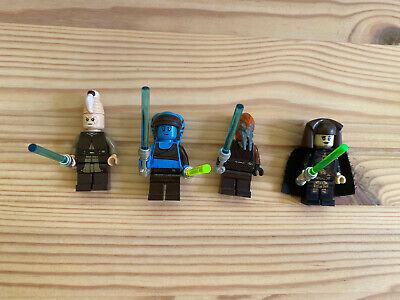 Lego Star Wars Jedi Minifigs: Plo Koon, Ki-Adi, Aayla Secura, Luminara