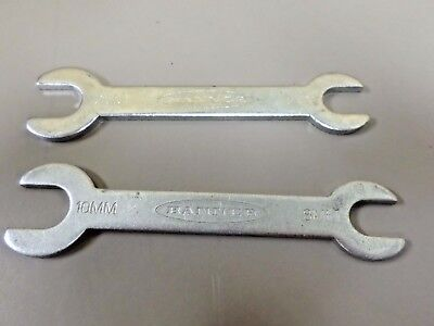 Banner  8mm x 10mm  Open End Combination Sensor Wrench LOT OF 2