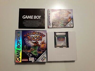 Gameboy Color Spiel Halloween Racer Ovp Komplett