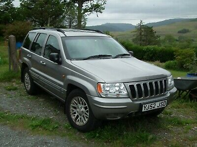 Jeep Grand Cherokee 4.7V8 Limited on LPG