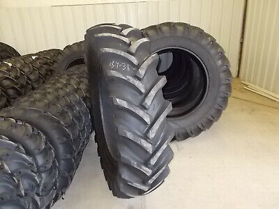 Two New 18.4-38 14 Ply R1 Tractor Tires