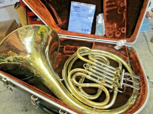 """F.E. Olds """"Ambassador"""" Single USA French Horn Outfit, Ready to Play, Why Rent?"""