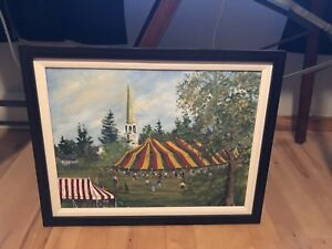 v,lindley;rothesay commons painting 275.00 28x22