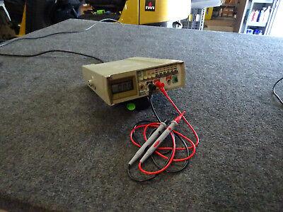 Fluke 8010a Digital Benchtop Multimeter Option 01 Battery W New Test Leads