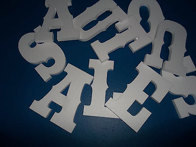"""Western 8"""" style foam letters, for crafts,signs etc"""