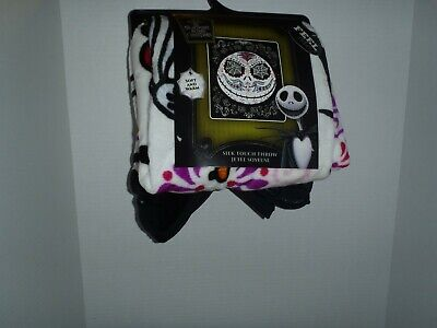 The Nightmare Before Christmas Jack Silk Touch Throw Blanket 50 X 60