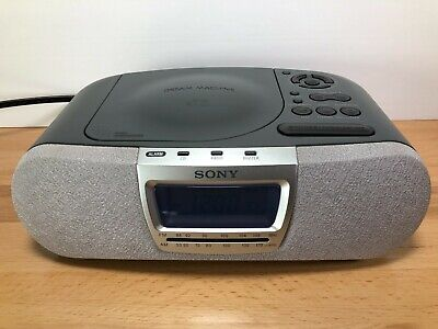 Sony Dream Machine ICF-CD830 CD AM/FM Alarm Clock Radio Music Disc Player