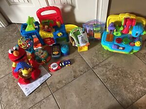 Fisher Price & Playskool Gently used baby/toddler toys