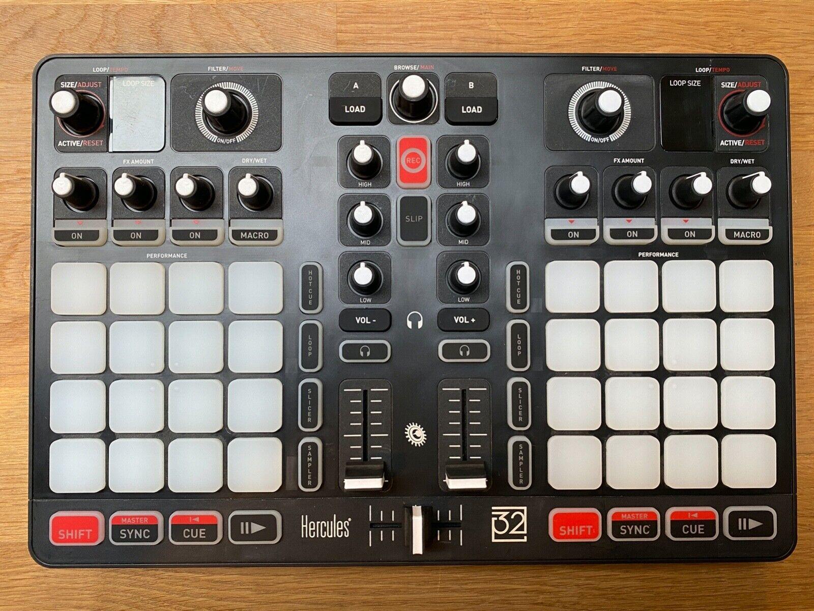 Hercules P32 DJ Midi Controller Soundkarte