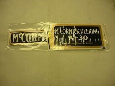 Ihc Mc Cormick Deering W30 Tractor Decal Set New - Free Shipping
