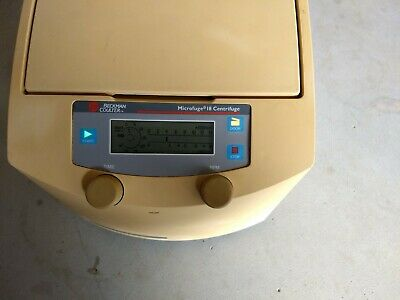 Beckman Coulter Microfuge 18 Centrifuge With F241.5p Rotor Tested Working
