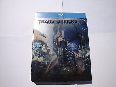 Transformers Dark of the Moon *Steelbook* Brand New*  (Blu-Ray Disc )