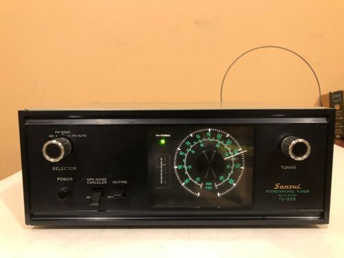 Sansui stereophonic tuner TU-555