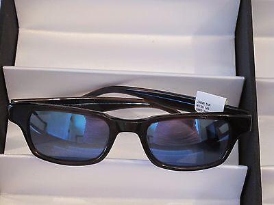 Sama Sunglasses, Jacob, Brown/Blue,  Sz 49,   NWT, Retail $456