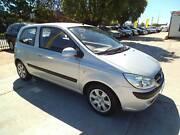 2009 Hyundai Getz Hatchback 1.4lt AUTO $5990 St James Victoria Park Area Preview