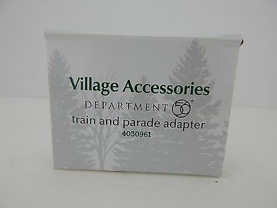 Village Halloween Parade (Dept 56 Halloween Village Black Train & Parade Adapter  #4030961 New in Box D56)