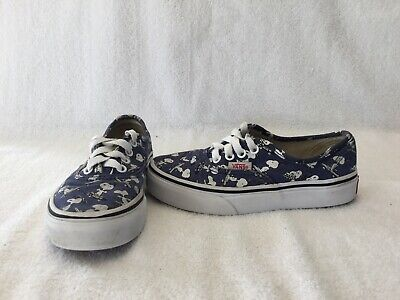 Vans Off The Wall Boys Peanuts Skateboarding Snoopy Shoes~size 12.5