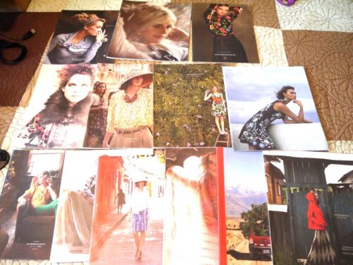 Anthropologie Lot of Thirteen 2009 2010 2011 2016 2018 Catalogs Collection