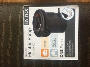 New air pump for air beds