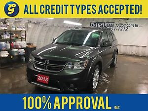 2015 Dodge Journey R/T*AWD*Leather Trimmed Bucket Seats*All Whee