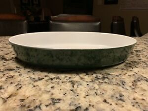 Green Emile Henry Oval Baking Dish