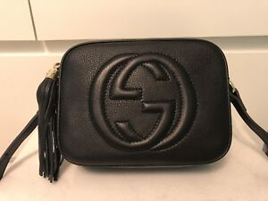 Gucci Soho Disco Crossbody in Black