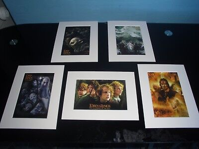 Mounted  Iconic  Lord Of The Rings Prints