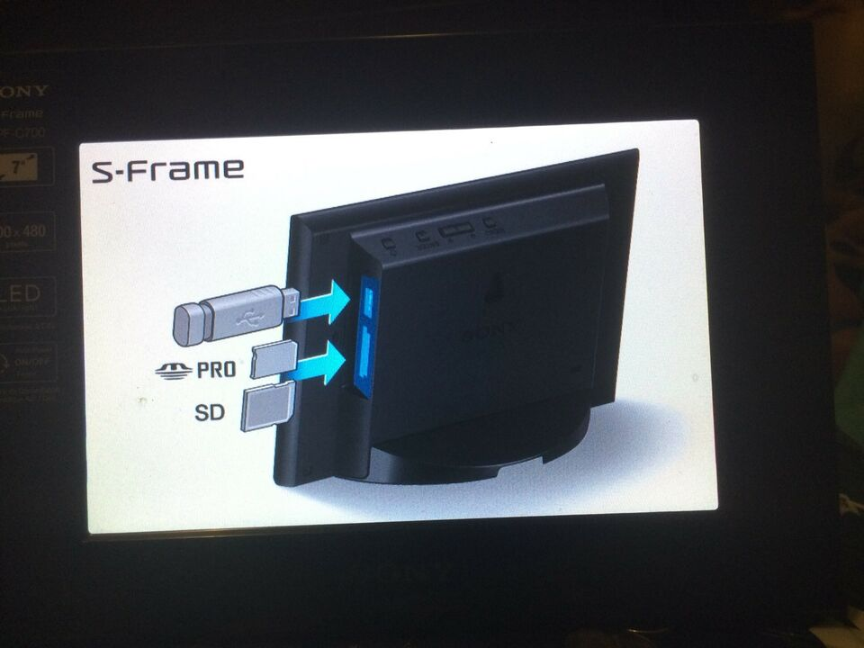 Sony S-Frame DPF-C700 | Electronics | City of Toronto | Kijiji