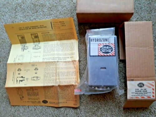CASH ACME ZD-100 POWER HEAD FOR HYDROZONE ZONE CONTROL VALVE- NOS