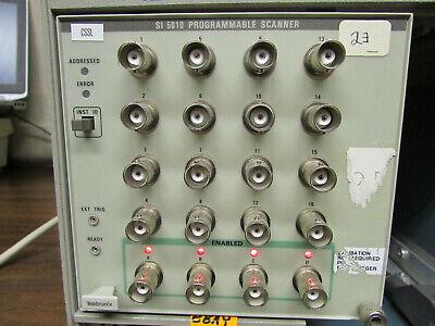 Tektronix Tm 5000 Plug-in Module Si-5010 Programmable Scanner