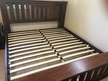 King bed frame only