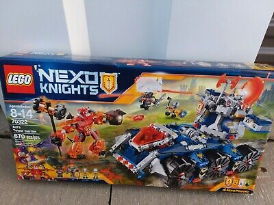 NEW LEGO Nexo Knights Axl's Tower Carrier 670 pc. 70322 FREE Shipping! ages 8-14