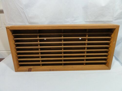 Napa Valley Wood Co 28 Cassette Tape Tapes Storage Holder Rack Shelf Caddy Bin