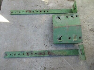 John Deere 4000 3020 4020 4320 Front Double Stack Weight R44350r With Rails