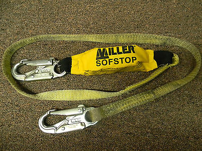 Miller Sofstop Safety Lanyard 6 And Miller 213wls Lanyard 6