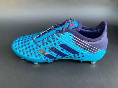 Adidas Men's Predator Malice Soft  Ground Rugby Boots Shoes Size 8 US BY2745 Ground Rugby Boots