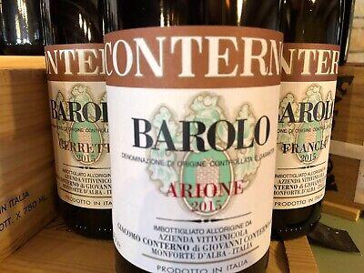 Giacomo Conterno Barolo Arione 2015 0,75 L docg  R. Parker