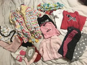 MOVING SALE:  Mix of 0-3 & 3-6 month girls clothing