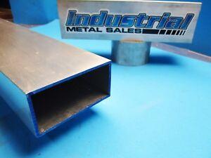 6063 T52 Aluminum Rectangle Tube  2